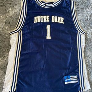 Notre Dame Jersey Adidas youth large